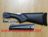 Baikal MP-27/Izh-27, Spartan-310 Carbon plastic set: forend, buttstock, pad, screw for sale