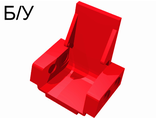 ! Б/У - Technic Seat 3 x 2 Base, Red (2717) - Б/У