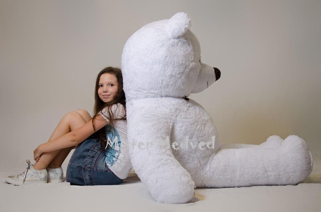 7960a2f3e066 Плюшевый мишка Mr. Medved 2 метра, белый купить в Киеве, цены