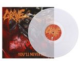 GRAVE You'll never see... CLEAR LP