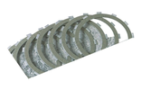 302-30-10013 Barnett CLUTCH FRICTION PLATE KIT KEVLAR 9 PLATES (37932-98, 99-17 Twin Cam)
