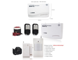 GSM сигнализация Security Alarm System