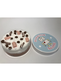 KINETIC SLIME CHOCOLATE  (250 МЛ)