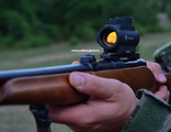 Russian red dot sight Pilad VOMZ 1x25 weaver
