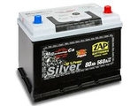 Zap Silver Japan Korean cars 80 (70 75) AH