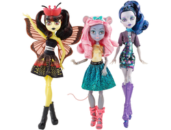 "Эль Иди, Мауседес Кинг и Луна Мотьюс ""Бу Йорк, Бу Йорк"" / Boo York Boo York 3 Pack Doll Set Luna Mothews Elle Eedee Mouscedes King"