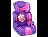 """Детское кресло """"Смешарики""""(15-36 кг/3-12 лет) фиолетовый с Ёжиком  SM/DK-400 Ezhik"""