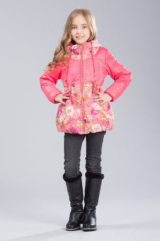 Куртка для девочек C5808, Jan Steen ( цвет розовый)