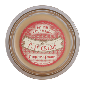 Свеча  CAFE CREME GOURMANDE CREAM D12XH8 Парафин Comptoir de Famille