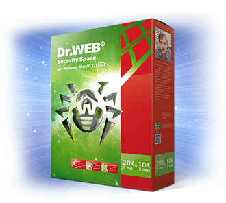 ПО DR.Web Security Space 3 ПК/1 год