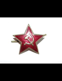 """Звезда кокарда """"Серп и молот"""""""