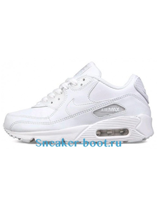 Nike Air Max 90 Men's/Women's белые (36-45)
