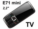 "мини Е 71 ( не NOKIA ) 2,2"" 2 сим TV FM MP3 Bluetooth"