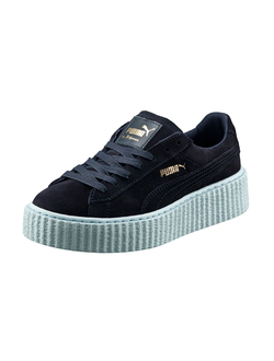 Puma by Rihanna creeper синие с голубым