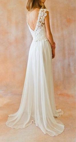 1c780afb5fe Длинное вечернее платье с открытой спиной белого цвета подойдет на ...