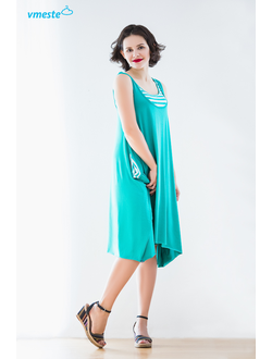 "Mint  dress ""Breeze"""