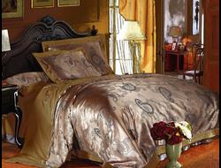 Артикул H016. Элитное постельное белье на 100% хлопковой основе с использованием шелковой нити,декорировано вышивкой