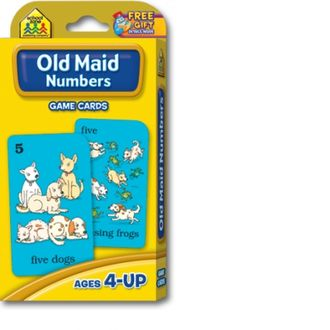 Old maid numbers (игра с карточками)