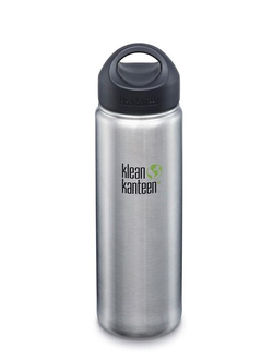 Бутылка Klean Kanteen Wide 27oz (800 мл) Brushed Stainless
