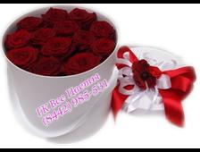 Розы в коробке Вместо Тысячи Слов