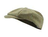 Кепка JOHN PARTRIDGE Tweed Baker Boy Hat Green