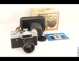 Фотоаппарат Зенит-Е с объективом Helios-44-2 58 mm f/ 2 (экспортный) Олимпийский