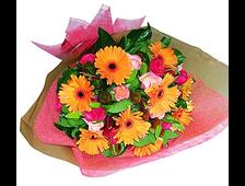 17 Ярких цветов в букете