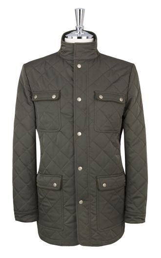 Куртка T.M.Lewin Temple Khaki Quilted Jacket