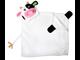 Детское полотенце с капюшоном Zoocchini Корова Кейси