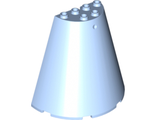 Cone Half 8 x 4 x 6, Bright Light Blue (47543 / 6056243)