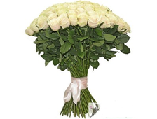 Букет Дыхание Нежности 23 красные розы/белые