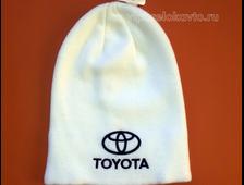 Шапка с логотипом авто TOYOTA