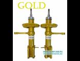 ВАЗ 2170-2190 масляные амортизаторные стойки передние Демфи GOLD (2шт). Двойной сальник.