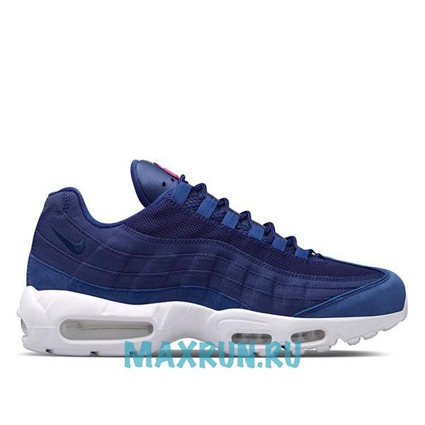 bc282efd Кроссовки Nike Air Max 95 мужские бело-синие