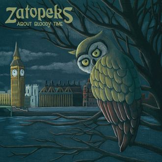 "LP Zatopeks ""About bloody time"" (East Beat Records / It""s Alive Records / Monster Zero)"