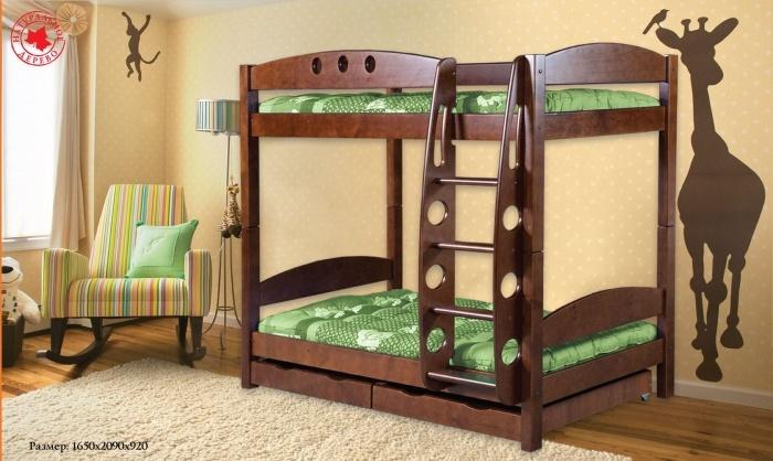 Детская двухъярусная кровать липецк