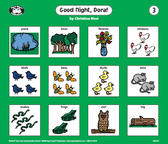 Story time communication boards