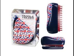 Щетка массажная Tangle Teezer Compact Styler Английский флаг