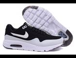 Кроссовки Nike Air Max 1 Ultra Moire черно-белые