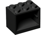 Container, Cupboard 2 x 3 x 2, Black (4532 / 6138479)