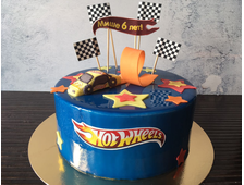 "ТОРТ ""Hot Wheels"", 2,0 кг"