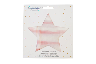 TinyTwinkle Пелёнка 120*120 (Sunset Stripe)