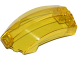 Windscreen 10 x 6 x 4 Curved, Trans-Yellow (18729 / 6190005)
