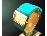 Часы на бирюзовом браслете (№398)