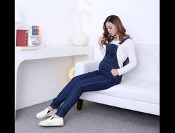 Джинсовый комбинезон для беременных