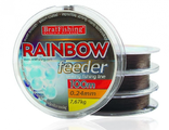 Леска Bratfishing Rainbow Feeder 100m 0.30mm