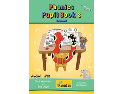 Jolly Phonics Pupil Book 3 colour edition in Print Letters