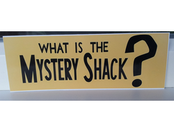 Наклейка What is Mystery Shack?