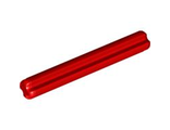 Technic, Axle 4, Red (3705 / 4265797 / 6129995)