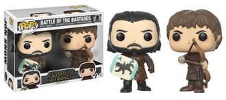 Фигурки Funko POP! Game of Thrones 2PK BOTB Ramsay Bolton & Jon Snow